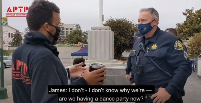 screenshot YouTube Anti Police-Terror Project