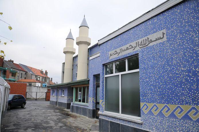 De moskee in de Fererlaan.