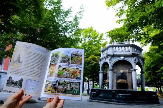 """Avec """"Le trésor de Saint-Lambert"""", l'Office du Tourisme de la Ville de Liège veut faire découvrir les recoins de la Cité Ardente autrement."""