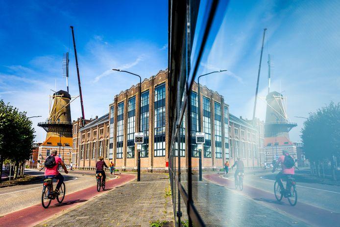 Nieuwe wieken voor molen Kijck over den Dijck.