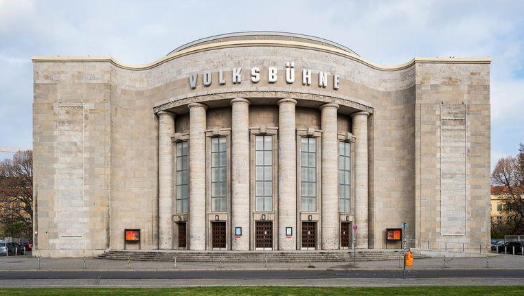 De Volksbühne in Berlijn Beeld Christoph Neumann
