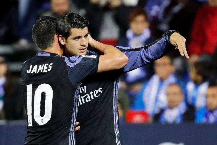 James en Morata, vorig jaar luxe-invallers, dit seizoen bijzonder hard gemist