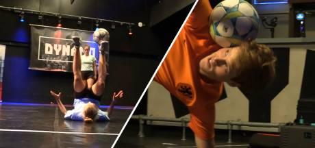 Hooghouden voor gevorderden bij het NK Freestyle Voetbal: 'Ze hebben megaveel talent'
