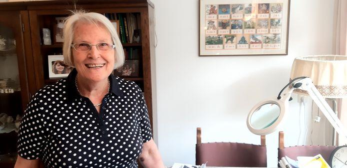 Bewoonster Marry den Hartog-Broere (85) van verpleeghuis Irishof in Gouda was begin dit jaar wekenlang erg ziek van corona.