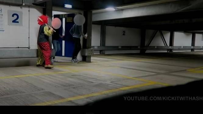 Clown jaagt 'voor de grap' mensen de stuipen op het lijf, maar dat loopt grondig fout