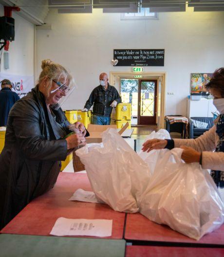 Voedselbank keert met uitgiftepunten terug in Velp en Arnhem; locaties coronaproof gemaakt