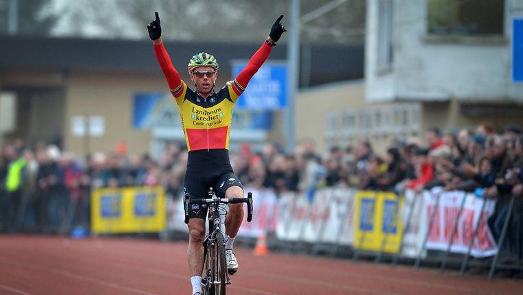 Sven Nys won opnieuw. Beeld BELGA