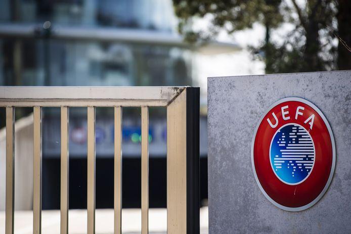 Het hoofdkantoor van de UEFA in Nyon.