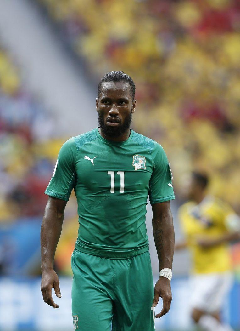 Didier Drogba Beeld AFP