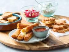 Wat Eten We Vandaag: Driekazenborrelplank