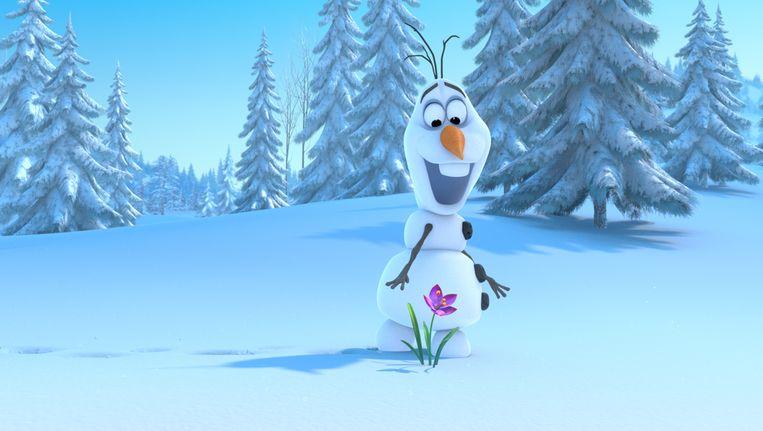 Goed nieuws voor de fans van Olaf: de vrolijke sneeuwman duikt ook in de kortfilm op. Beeld Flickr/Jorge Figueroa