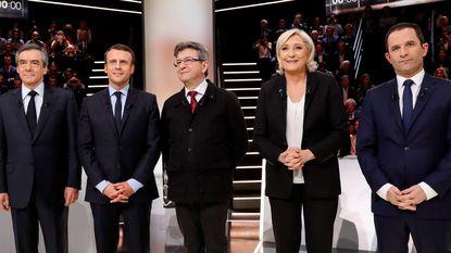 Macron overtuigt het meest in eerste tv-debat