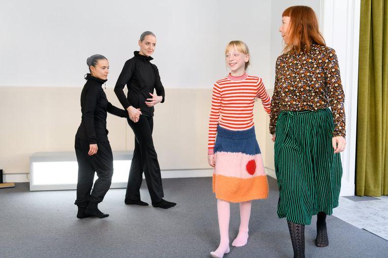 De levende tentoonstelling Motus Mori van Katja Heitmann, te zien tijdens SPRING Beeld Jostijn Ligtvoet