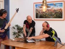 De muzikanten van Monster namen coronaproof een album op: 'We kwamen één keer bij elkaar voor de bandfoto'