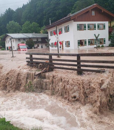 Situatie in Duitse Beieren 'dramatisch' door extreme regenval