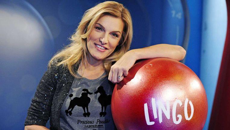 Lucille Werner presenteert al negen jaar 'Lingo'. Beeld ANP