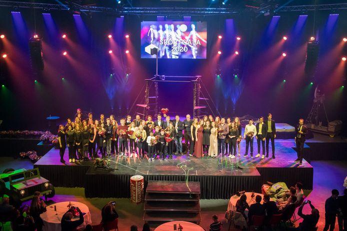 Het laatste Sportgala van Veenendaal in januari dit jaar.