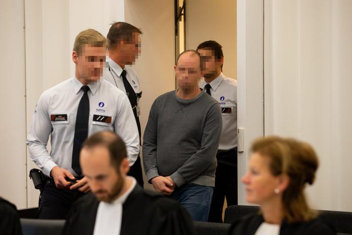 Beschuldigde Thomas C. staat terecht voor de doodslag op Sandra Stompf.