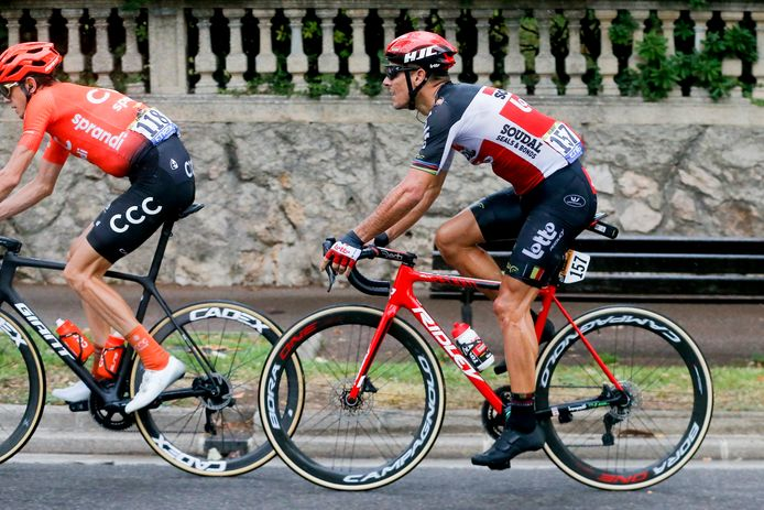 Philippe Gilbert moet de Tour verlaten.