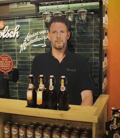 Bieradvies nodig? Grolsch komt met interactieve 'bar' in supermarkt met tips van meesterbrouwer