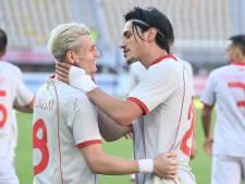 Oranje-opponent Noord-Macedonië boekt ruime zege op Kazachstan
