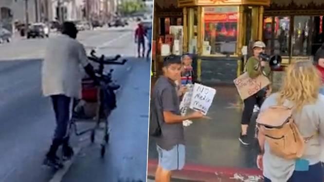 Antivaxer vraagt waarom daklozen niet dood op straat liggen met corona. Een van hen geeft fijntjes antwoord
