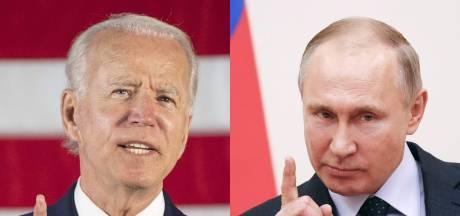 Biden ontmoet Poetin: 'Dialoog met Rusland is geen teken van zwakte'