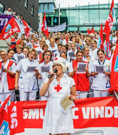Hierom doen meer medewerkers Erasmus MC mee aan tweede stakingsdag
