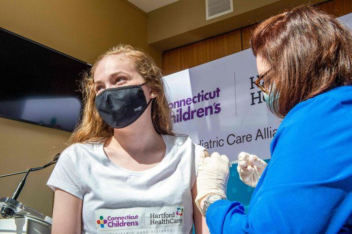 In de Verenigde Staten worden kinderen tussen twaalf en vijftien jaar al gevaccineerd.