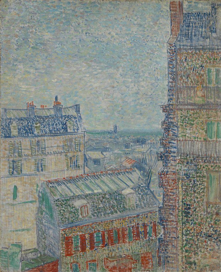 Vincent van Gogh, Gezicht vanuit Theo's appartement, 1887 Beeld Van Gogh Museum Amsterdam