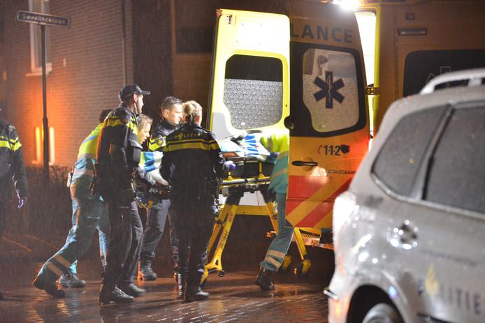 De Bredanaar is met spoed naar het ziekenhuis gebracht