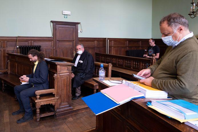 De zaak van Engel tegen Marc Van Ranst in de Rechtbank van Mechelen
