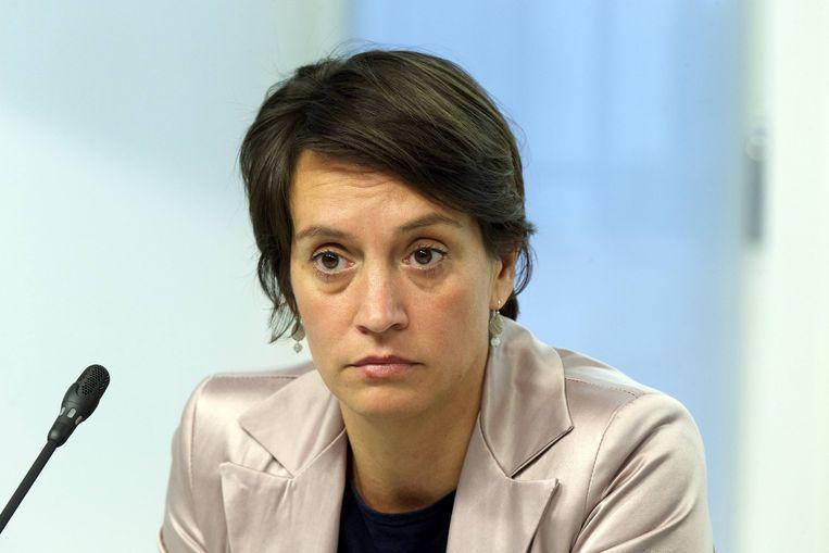 Elisabeth Meuleman (Groen). Beeld belga