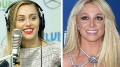 """Miley Cyrus wil een duet zingen met Britney Spears: """"Ik ben haar allergrootste fan"""""""