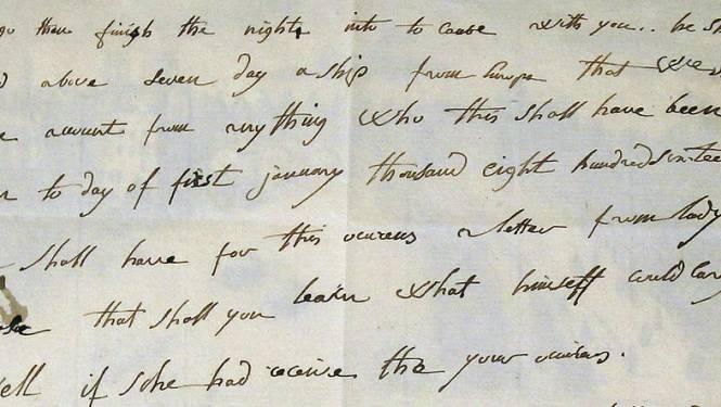 Engelse brief van Napoleon brengt 325.000 euro op