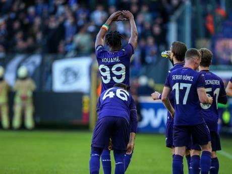 Anderlecht assure et enfonce un peu plus le Beerschot