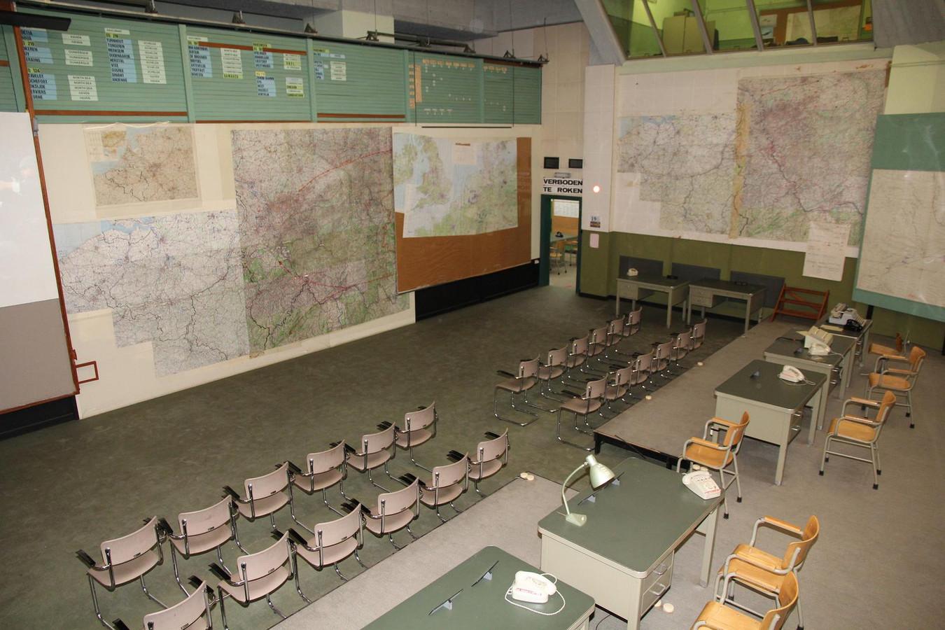 Een overblijfsel uit de Koude Oorlog: de commandobunker in Kemmel.