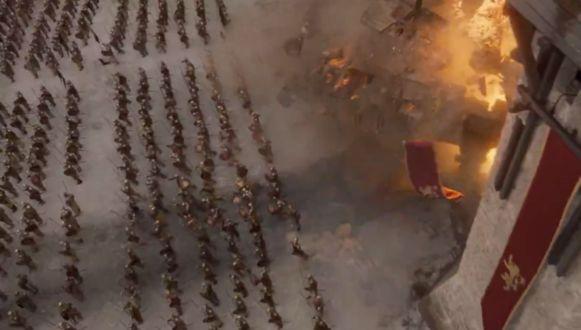 Daenerys valt aan!