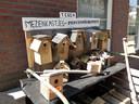 Mezenkastjes, tegen de eikenprocessierups, te koop bij particulieren in de kom van Moergestel