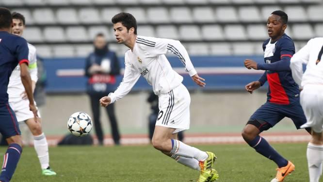 Enzo Zidane pakt meteen uit met 'Zidaneke' bij debuut in B-elftal Real