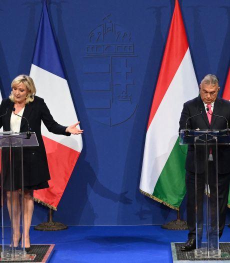 En visite à Budapest, Marine Le Pen soutient Viktor Orban et critique l'Europe