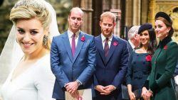Maak kennis met de 'geheime' zus van prins William en Harry
