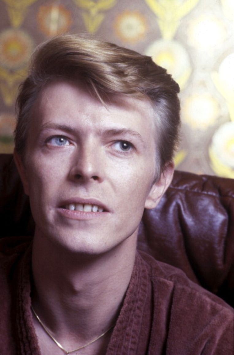 David Bowie, The man who sold the world, maar ook The man who has two different colored eyes. Beeld Getty Images
