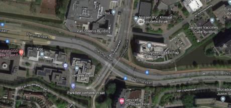 Motorrijders op de vlucht geslagen voor politie in Leiden