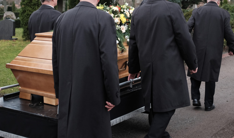 Begrafenis. Beeld iStock