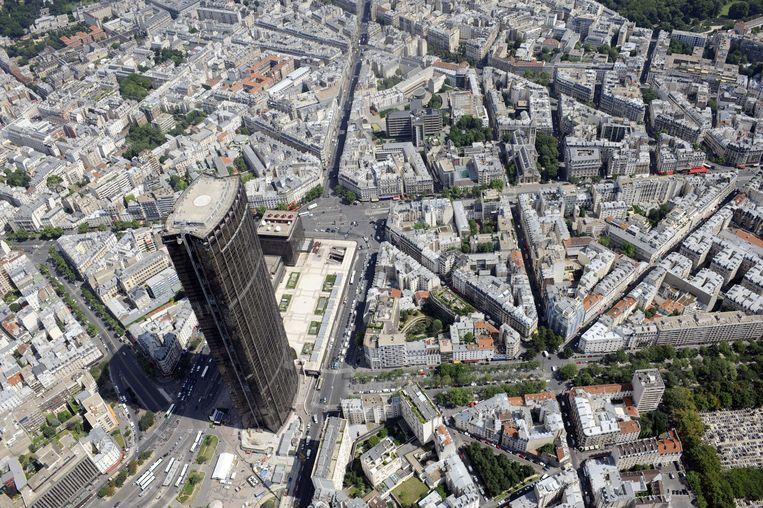 De Tour Montparnasse in Parijs.  Beeld AFP