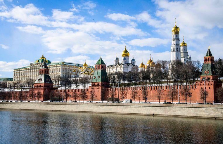 Het Kremlin in Moskou. Beeld AFP