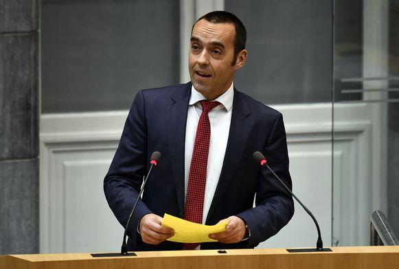 Sp.a-parlementslid Bruno Tobback.