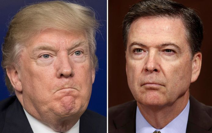 Trump versus Comey