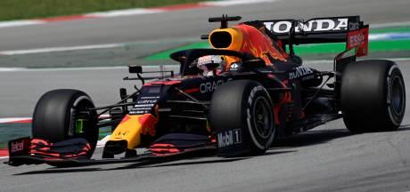 LIVE | Verstappen in slottraining voorlopig achter Hamilton en Bottas
